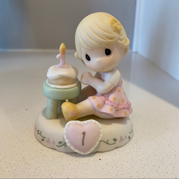 Precious Moments Other - Precious Moments one year old baby figurine